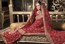 bridal saree for wedding