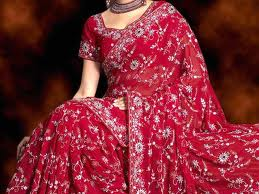 designer bridal saree in pink for wedding