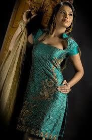 designer salwar kameez in green