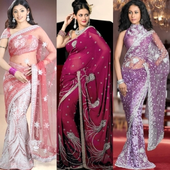 Best beautiful sarees for tall, slim, short, fat, over weight, plus size, dark complexion, fair,women