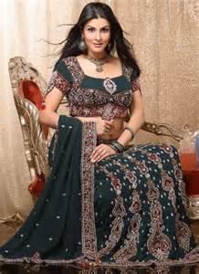 latest lehenga style saree